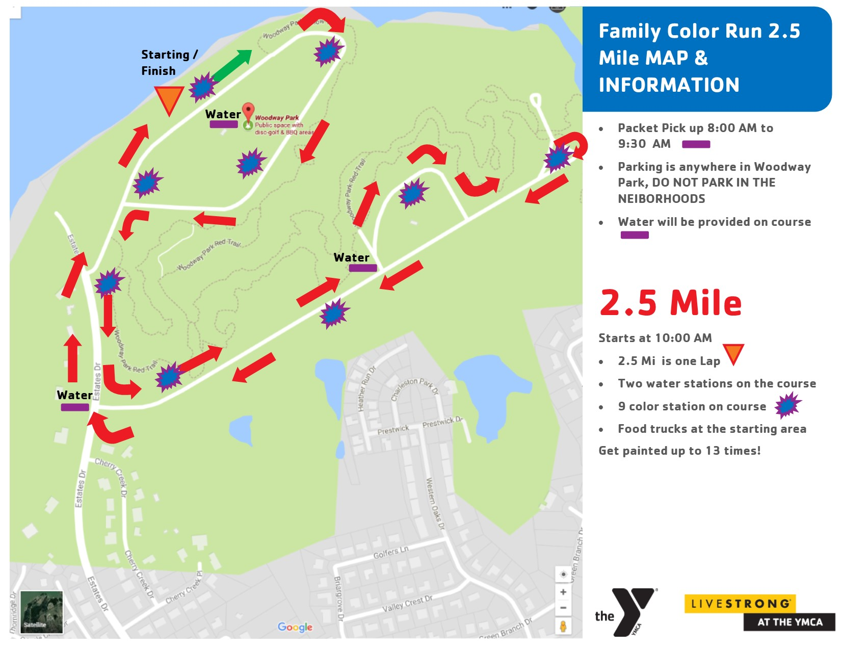 YMCA COLOR RUN 2019: Map on little league map, boy scout council map, lake james north carolina topographic map, panera bread map, sams club map, elks lodges map, holiday inn map, lions club map, con edison map,